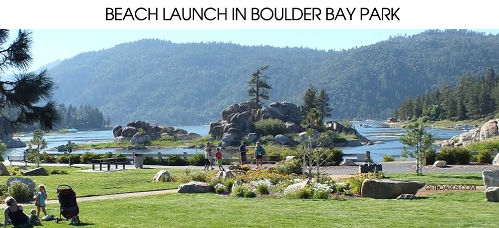 Boulder Bay Park Big Bear Lake CA
