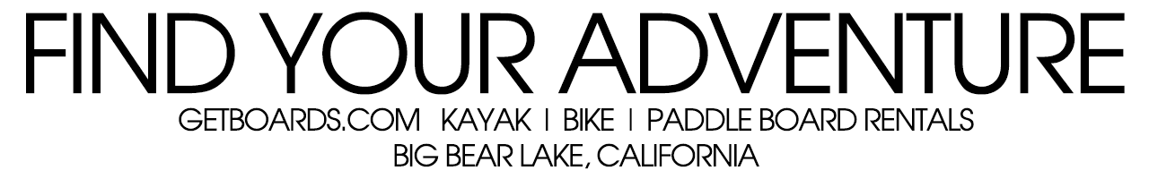 Big Bear Lake Kayak Bike Paddle Board Rentals for Hire